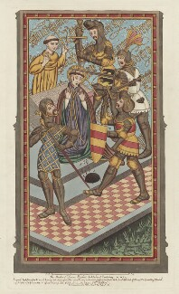 Thomas Becket, by and published by John Carter - NPG D23960