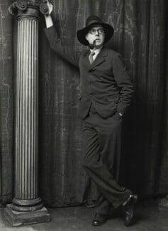 Wyndham Lewis, by George Charles Beresford - NPG x6536
