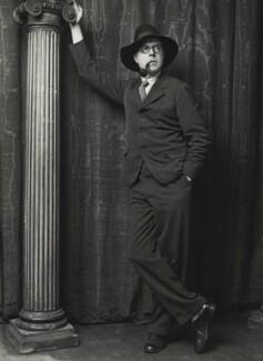 Wyndham Lewis, by George Charles Beresford, 1929 - NPG x6536 - © National Portrait Gallery, London