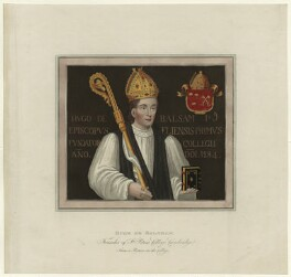 Hugh de Balsham, after Unknown artist - NPG D23964