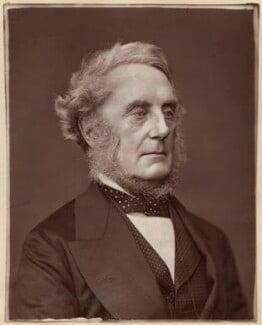 Edward Cardwell, Viscount Cardwell, by Lock & Whitfield - NPG x5629