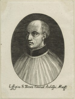 Thomas Becket, by Lucas Vorsterman - NPG D23968