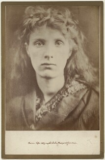 'The Mountain Nymph Sweet Liberty' (Annie Keene (née Edwards)), by Julia Margaret Cameron, 1866 - NPG  - © National Portrait Gallery, London