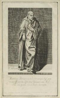 Matthew Paris, published by William Richardson - NPG D23975