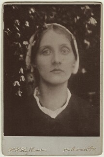 Julia Prinsep Stephen (née Jackson, formerly Mrs Duckworth), by Julia Margaret Cameron, distributed by  Henry Herschel Hay Cameron (later The Cameron Studio) - NPG x18052
