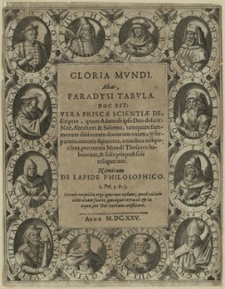Title page to 'Gloria Mundi' (1625), after Unknown artist - NPG D23981
