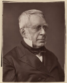 Sir George Biddell Airy, by Lock & Whitfield, circa 1877 - NPG x24 - © National Portrait Gallery, London
