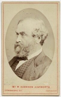William Harrison Ainsworth, by London Stereoscopic & Photographic Company - NPG x20