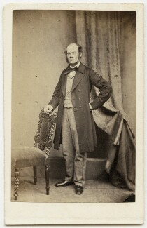 David Thomas Ansted, by Maull & Polyblank, early-mid 1860s - NPG x45084 - © National Portrait Gallery, London
