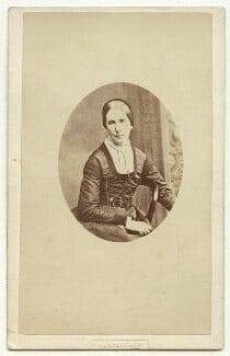 Angela Burdett-Coutts, Baroness Burdett-Coutts, by Peter Paul Skeolan, 1868 - NPG x4892 - © National Portrait Gallery, London