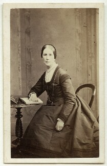 Angela Burdett-Coutts, Baroness Burdett-Coutts, by Peter Paul Skeolan, 1868 - NPG x17021 - © National Portrait Gallery, London