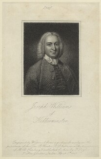 Joseph Williams, by James Hopwood Sr - NPG D31659