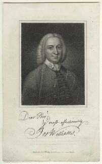 Joseph Williams, by James Hopwood Sr, published by  Westley & Davis - NPG D31660