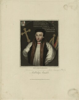 Thomas Arundel (Fitzalan), Archbishop of Canterbury, after Unknown artist - NPG D23997