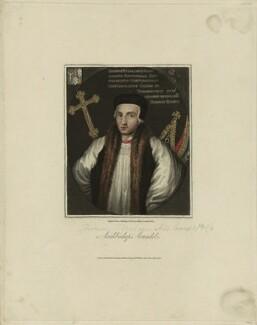 Thomas Arundel (Fitzalan), Archbishop of Canterbury, after Unknown artist - NPG D23997