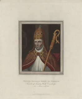 William Bateman, Bishop of Norwich, published for Rudolph Ackermann - NPG D23998