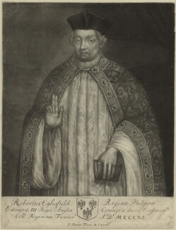 Robert Eglesfield, by John Faber Sr, 1712-1714 - NPG D24001 - © National Portrait Gallery, London