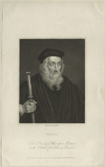 John Wyclif, by James Posselwhite - NPG D24007