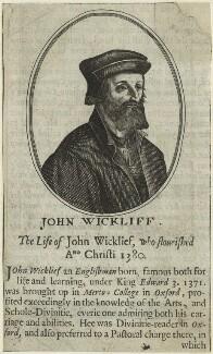 John Wyclif, after Hendrik Hondius (Hond) - NPG D24010
