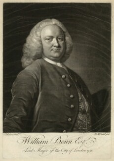 William Benn, by James Macardell, after  Thomas Hudson - NPG D31666