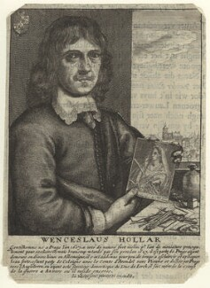 Wenceslaus Hollar, by Wenceslaus Hollar, after  Johannes Meyssens - NPG D31632