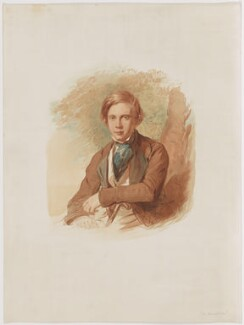 John Byrne Leicester Warren, 3rd Baron De Tabley, after George Richmond - NPG D31669