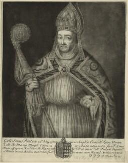 William Waynflete (Patten), Bishop of Winchester, by John Faber Sr - NPG D24021