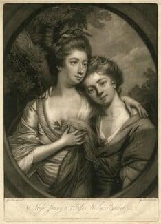 Jenny Bennet; Nelly Bennet, by Giuseppe Filippo Liberati ('Joseph') Marchi, after  James Nixon - NPG D31670
