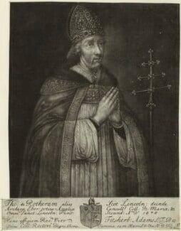 Thomas Rotherham, by John Faber Sr - NPG D24034