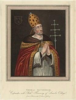 Thomas Rotherham, after Unknown artist - NPG D24035