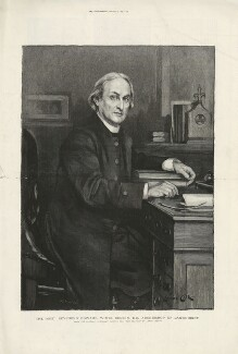 Edward White Benson, by Henry Sigismund Uhlrich, published by  The Graphic, after  Lance Calkin - NPG D31673