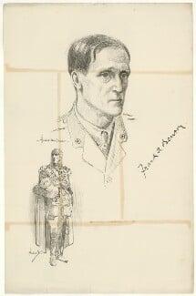 Frank Benson, after Howard van Dusen, and after  John Hassall - NPG D31674