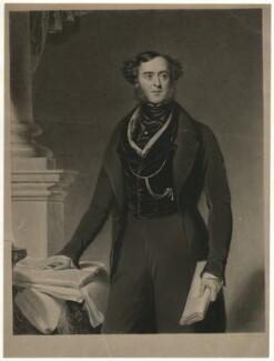 Lord George Cavendish Bentinck, by Samuel William Reynolds, after  Samuel Lane - NPG D31679