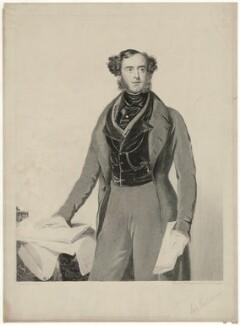 Lord George Cavendish Bentinck, by Samuel William Reynolds, after  Samuel Lane - NPG D31680