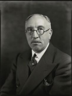 Sir Edward Taswell Campbell, 1st Bt, by Bassano Ltd - NPG x151433