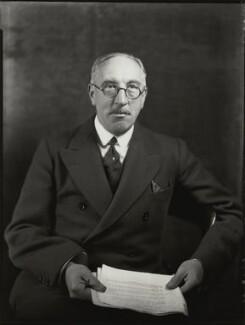 Sir Edward Taswell Campbell, 1st Bt, by Bassano Ltd - NPG x151435