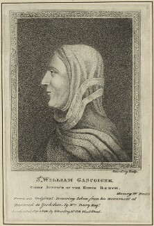 Sir William Gascoigne, by Silvester (Sylvester) Harding, published by  Edward Harding - NPG D24050