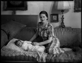 Lucius Edward William Plantagenet Cary, 15th Viscount Falkland; Constance Mary Cary (née Berry), Viscountess Falkland, by Bassano Ltd, 19 June 1935 - NPG x151445 - © National Portrait Gallery, London