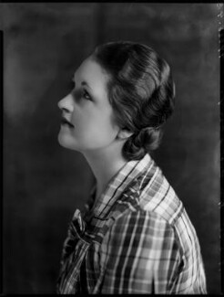 Constance Mary Cary (née Berry), Viscountess Falkland, by Bassano Ltd - NPG x151447