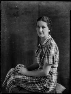 Constance Mary Cary (née Berry), Viscountess Falkland, by Bassano Ltd - NPG x151448