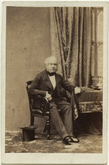 Henry John Temple, 3rd Viscount Palmerston, by Camille Silvy - NPG x11972