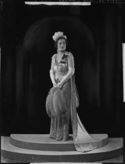 Margery Greenwood (née Spencer), Viscountess Greenwood, by Bassano Ltd - NPG x151451