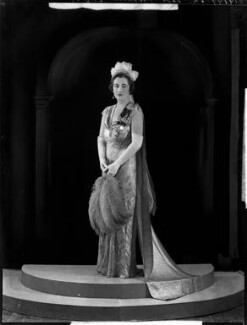Margery Greenwood (née Spencer), Viscountess Greenwood, by Bassano Ltd - NPG x151452