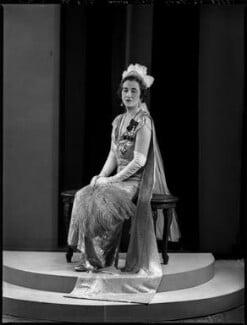 Margery Greenwood (née Spencer), Viscountess Greenwood, by Bassano Ltd - NPG x151453