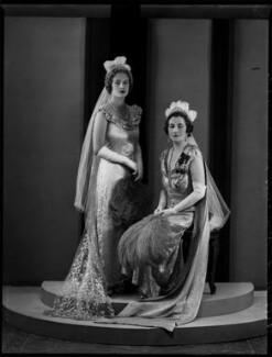 Viscountess Greenwood and daughter, by Bassano Ltd - NPG x151456