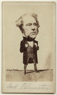 Henry John Temple, 3rd Viscount Palmerston, by and after Herbert Watkins - NPG x11979