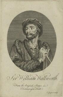 Sir William Walworth, by Charles Grignion - NPG D24062