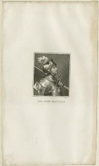 Sir John Fastolf, by Parker - NPG D24067