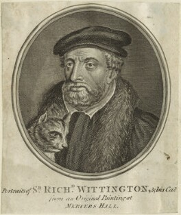 Fictitious portrait of Richard ('Dick') Whittington, by Guillaume Philippe Benoist - NPG D24070