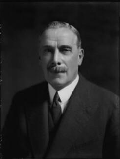 George Clement Tryon, 1st Baron Tryon, by Bassano Ltd - NPG x151477